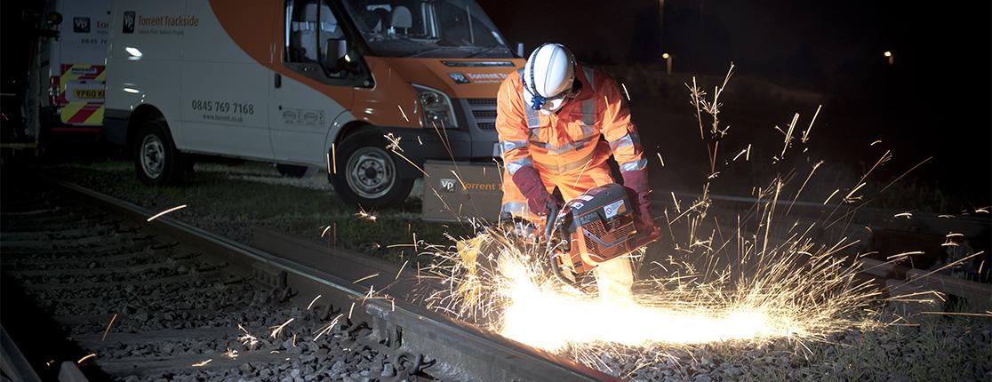 Work on the Rail Line